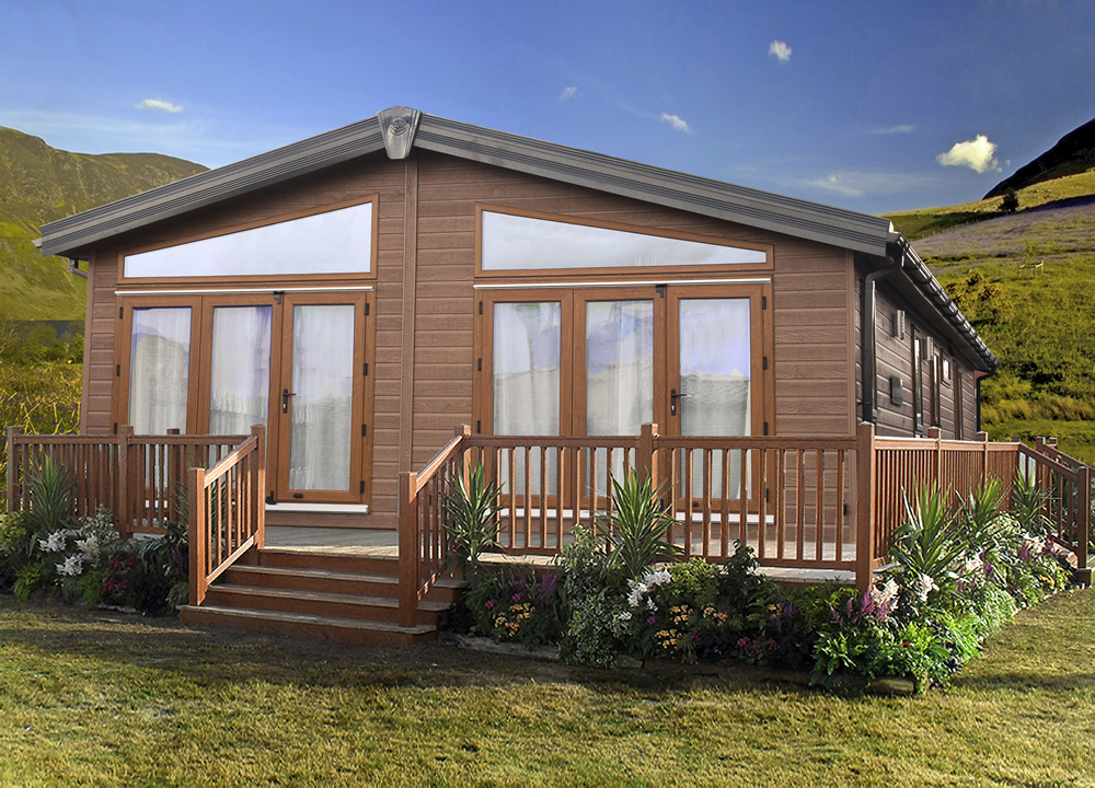 Living in a mobile home in mediterranean cheaper as pound for Mediterranean modular homes