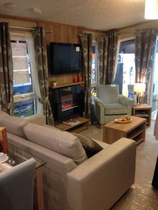 Pemberton Marlow mobile home interior