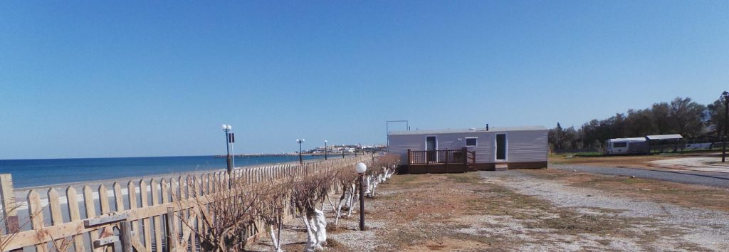 Mobile holiday homes for sale in Crete - Creta Camping : A place in the sun